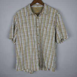 Carhartt Force Mandan Plaid Short Sleeve Shirt